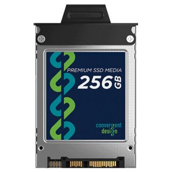 Convergent Design 256 GB SSD for Odyssey 7, 7Q, 7Q+, Apollo