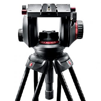 Manfrotto 509HD - Fluid Videokopf mit 100 mm Halbkugel