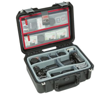 SKB iSeries Case w/Think Tank Dividers & Organizer (3i-1510-6dl)