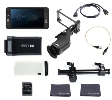 SmallHD 501 HDMI Field Monitor - BVE Monitor Kit