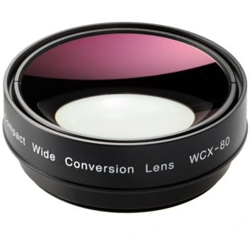 Zunow WCX-80 Compact Wide Conversion Lens (incl. Adapter Ring)