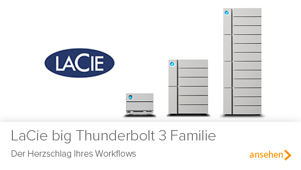LaCie Big Thunderbolt 3